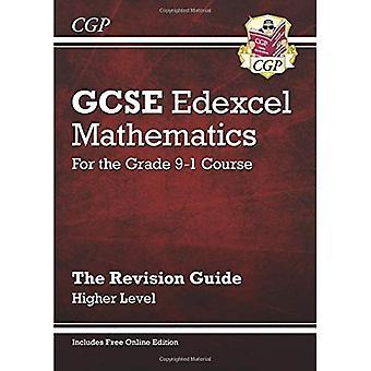 Nya GCSE matematik Edexcel Revision Guide: Högre - för betyget 9-1 kurs (med nätupplagan)