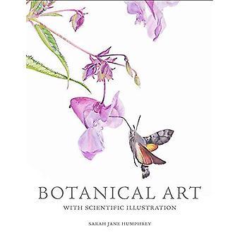 Arte botánico con ilustración científica