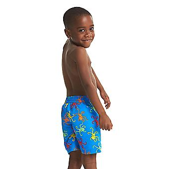 ZOGGS Boys Octopus Fever Watershorts - Blue/Multi