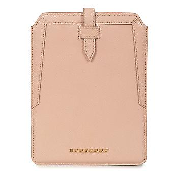 Burberry Oyster Pink Pebbled Leather iPad Mini Case