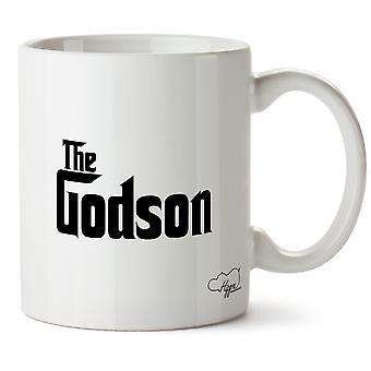 Hippowarehouse The Godson Printed Mug Cup Ceramic 10oz