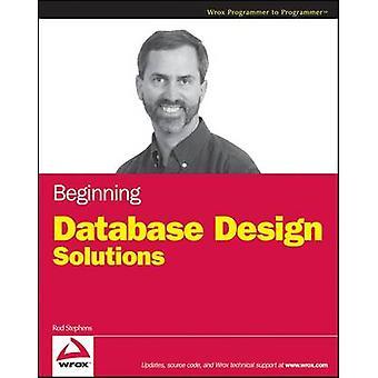 Iniziare la progettazione di Database wWS da Stephens