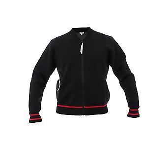 Kenzo preto fibras sintéticas Outerwear jaqueta