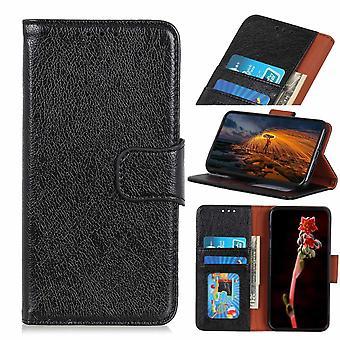 Samsung Galaxy A20e Wallet Pouch textured Split-Black