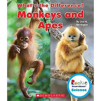 Monkeys and Apes by Lisa M Herrington - 9780531215340 Book