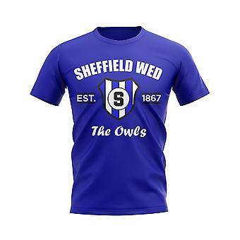 Sheffield Wednesday Established Football T-Shirt (Blue)