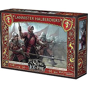 A Song of Ice and Fire - Lannister Halberdiers Expansion Pack Miniatures Game