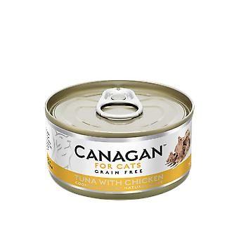 Canagan 75g Tuna with Chicken Cat Wet Food Can - 75g Can