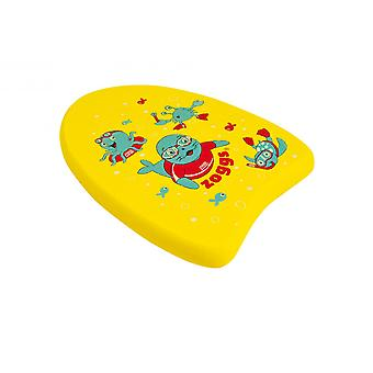 Zoggs Zoggy Mini Swim Kickboard - Yellow