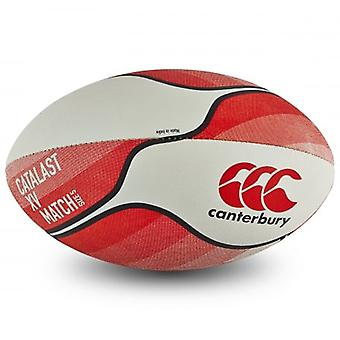 Canterbury Mens Catalast XV Standard Grip Match Rugby Ball