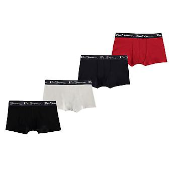 Ben Sherman Kids Trunks boxers ondergoed Pack van 4