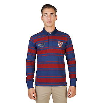 Oxford University-QUEENS-RUGBY-ML polo shirt