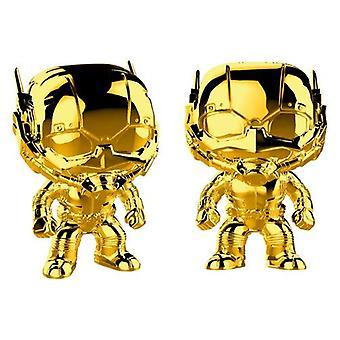 Funko 33521 POP Bobble Marvel Studios 10: Человек-муравей Хром