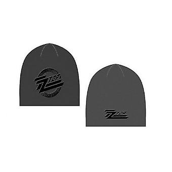 ZZ Top band Logo new Official grey Beanie Hat