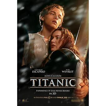 Titanic 3D Poster Double Sided Advance (2012) Original Cinema Poster