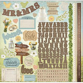 Paper House Cardstock Stickers 12
