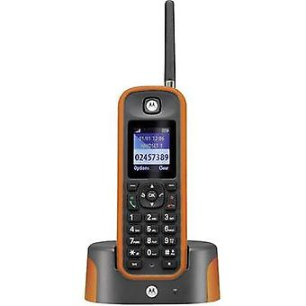 Cordless analogue Motorola O201 Hands-free, Outdoor, waterproof, shockproof Orange, Grey
