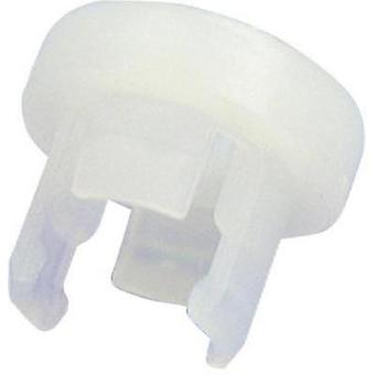 LED socket Polyamide 66 Suitable for LED 5 mm Snap-in fixing Richco LEDHPM-1