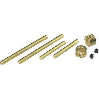Arexx Axle set with adjusting rings ARX-ACH05