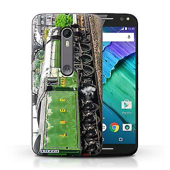 STUFF4 Case/Cover for Motorola Moto X Style/Scotsman/Green/Steam Locomotive