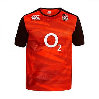 2016-2017 England Rugby Pro trening Jersey (rød)