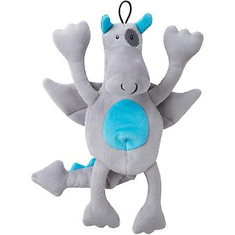 Trusty Pup Dragons Plush Toy-Grey 774065