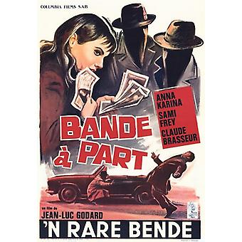 Band of Outsiders Movie Poster (11 x 17)