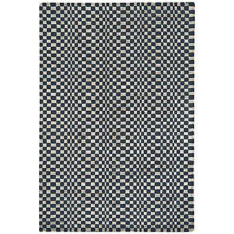 Riga Grey Wool & Viscose Modern Rug