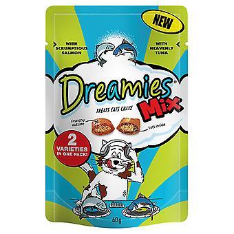 Dreamies Mix lax & Tuna 60g (x 8)