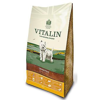 Vitalin naturlige følsomme lam & ris 2kg