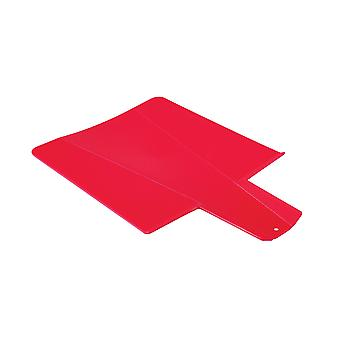 COLOURS Red Flexible Folding Chopping Board Plastic Kitchen Cutting Boards
