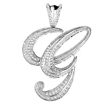 925 sterling silver MICRO PAVE pendants - G
