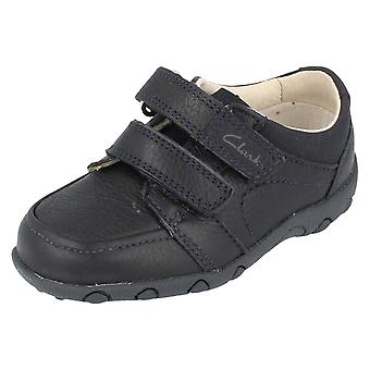 Boys Clarks Get Smart Formal Leather First Walking Shoes