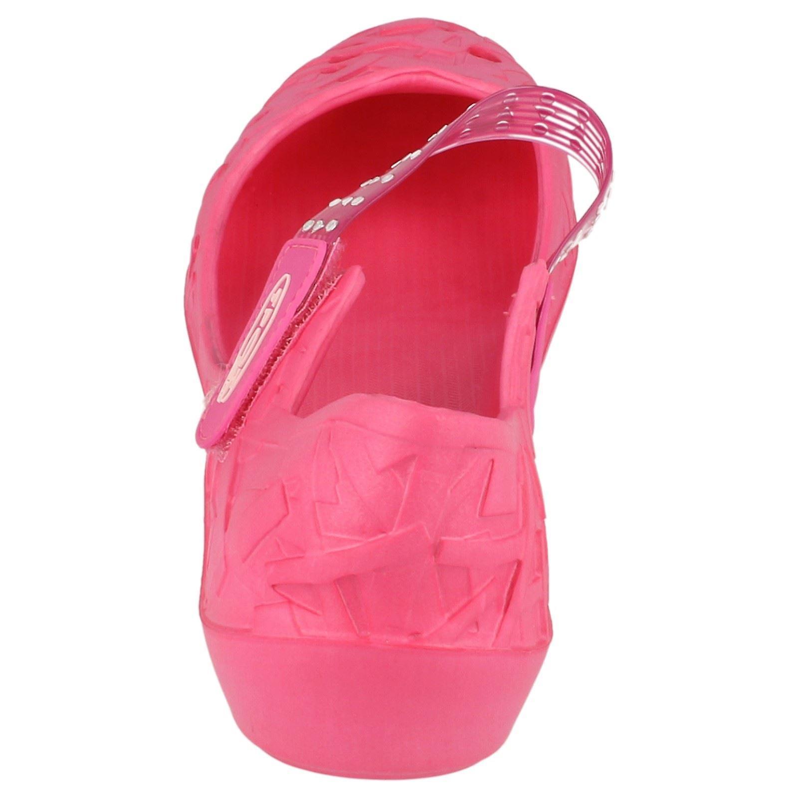 Womens Fleck auf flachen Ballerina Schuh F8217
