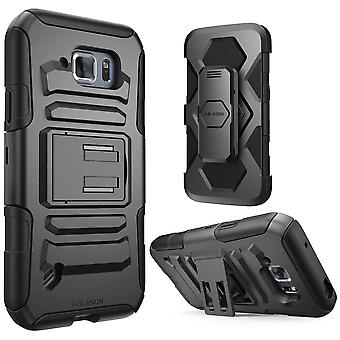 i-Blason Galaxy S6 Active Prime Series Holster Case with Stand - Black