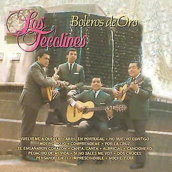 Los Tecolines - Boleros De Oro [CD] USA import