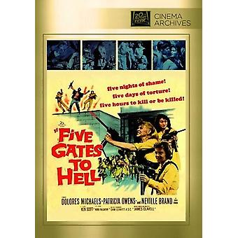Five Gates to Hell [DVD] USA import