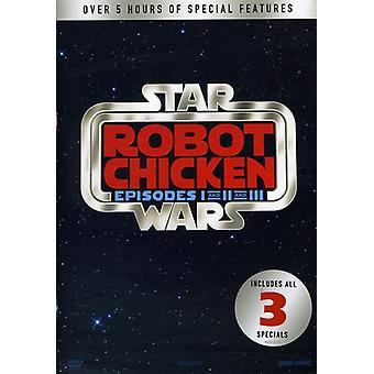 Robot Chicken Star Wars 1-3 [DVD] USA import