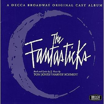 Støbt optagelse - Fantasticks [1960 oprindelige Off Broadway Cast] [CD] USA import