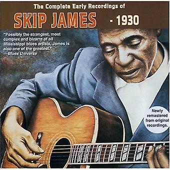 Skip James - Skip James: Komplet tidlige indspilninger [CD] USA import
