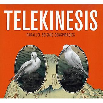 Telequinesis - conspiraciones sísmico paralelo [CD] USA importar