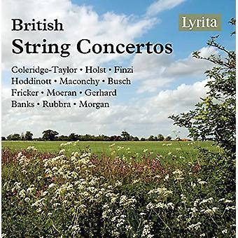 British String Concertos/Various - British String Concertos/Various [CD] USA import