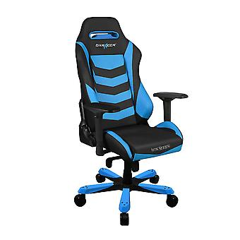 DX Racer DXRacer Iron Series OH/IS166/NB High-Back Boss Executive Chair PU Office Gaming Chair(Black/Blue)