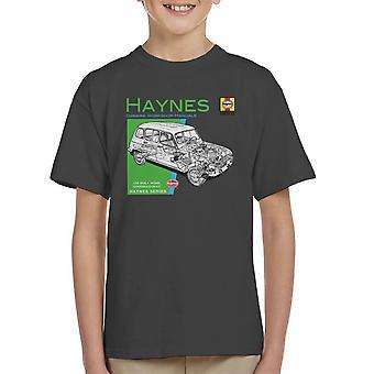 Haynes Besitzer Workshop Manual 0072 Renault 4 Kinder T-Shirt