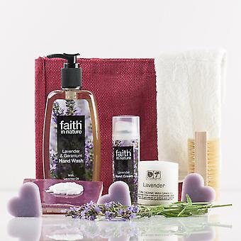 Luscious Lavender Hands Gift Bag - Luxury Beauty Gift Set