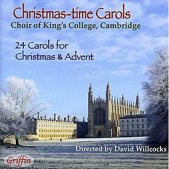 Koret af King's College, Cambridge / Davi - juletid Carols [CD] USA import