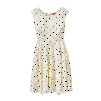 Joules Amelie Ladies Woven Pannelled 50 S Style Dress (U)