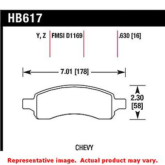 Hawk Truck/SUV Brake Pads HB617Y.630 Fits:BUICK 2008 - 2014 ENCLAVE  Position: