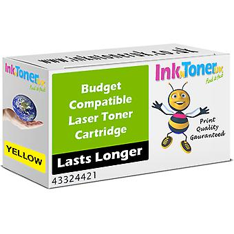 Cartuccia Toner giallo compatibile Oki 43324421 (43324421)