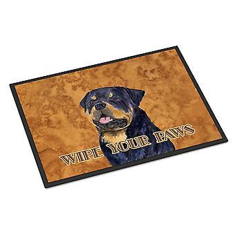 Rottweiler Wipe your Paws Indoor or Outdoor Mat 24x36